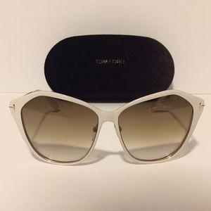 Tom Ford Lena TF391 White Sunglasses!!